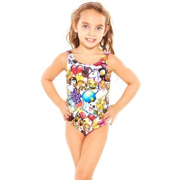e666421cf3 Zara Terez Swim | Girls Emoji Suit | Poshmark